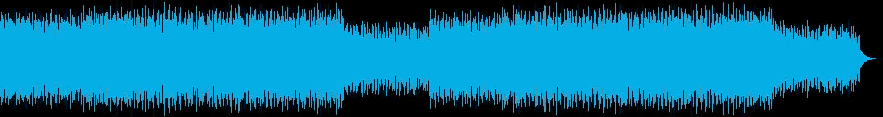 シンセ系・壮大で幻想的なエレクトロニカの再生済みの波形