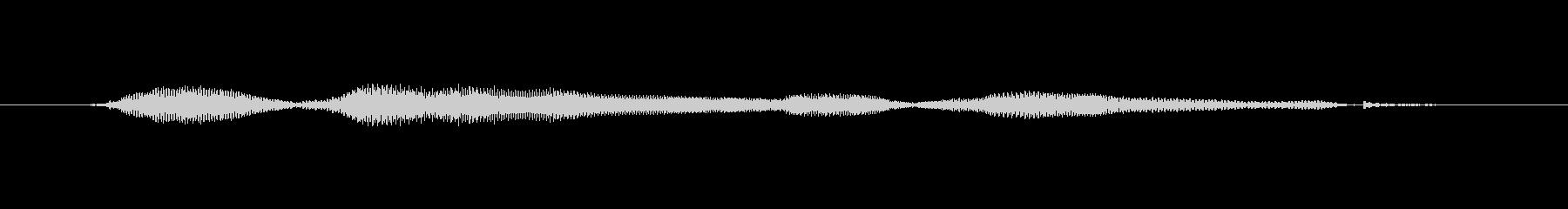 鳴き声 女性トークエルフィッシュ18の未再生の波形
