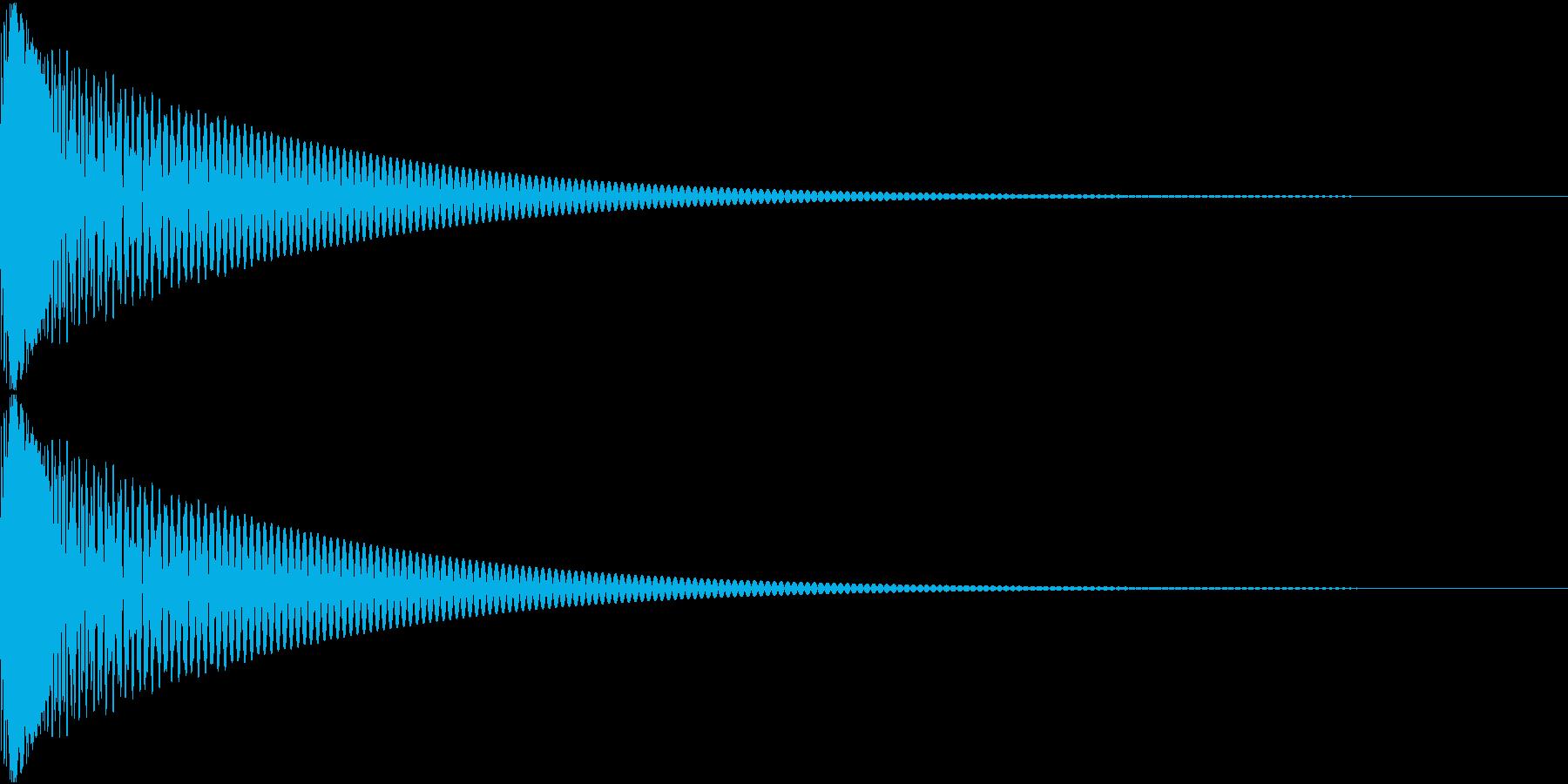Cap フタ・栓を開ける音 6の再生済みの波形