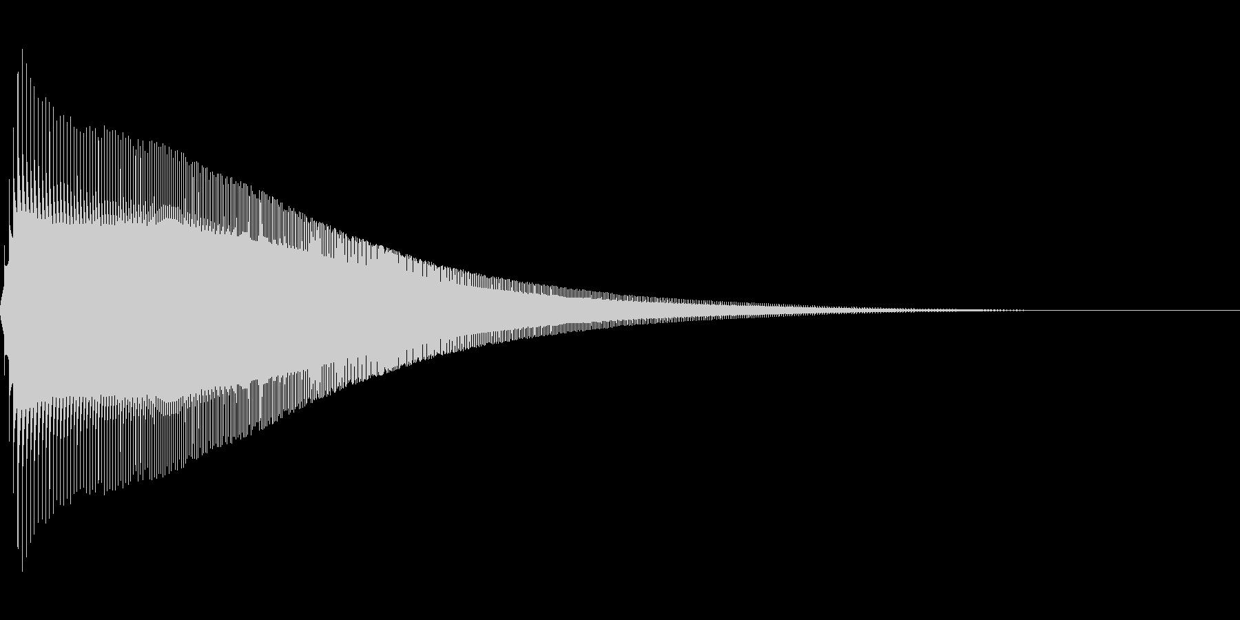 ジャンプ 1C 音程:高の未再生の波形