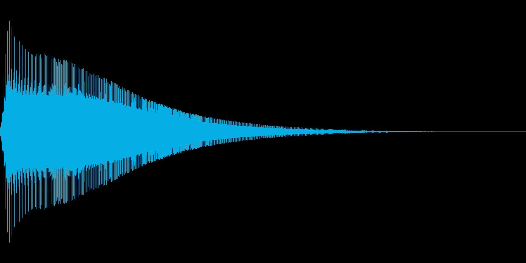 ジャンプ 1C 音程:高の再生済みの波形