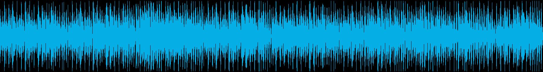 春の陽気 明るい日常系ジャズ(ループの再生済みの波形