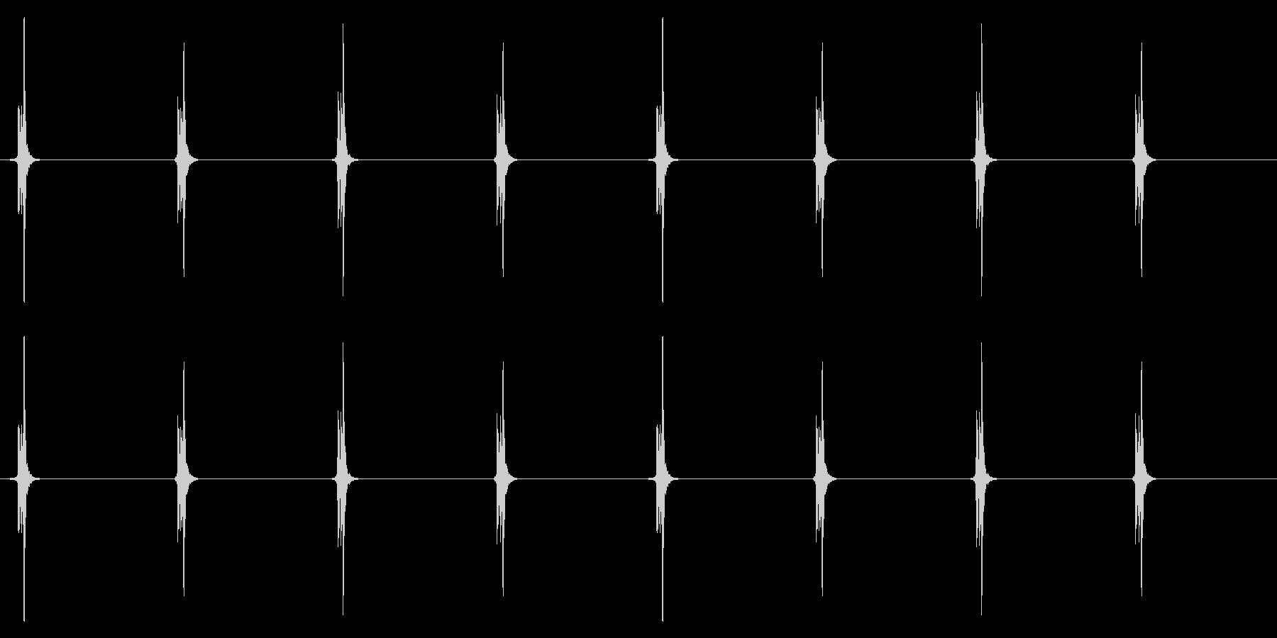 時計 秒針03-2(ループ 2)の未再生の波形