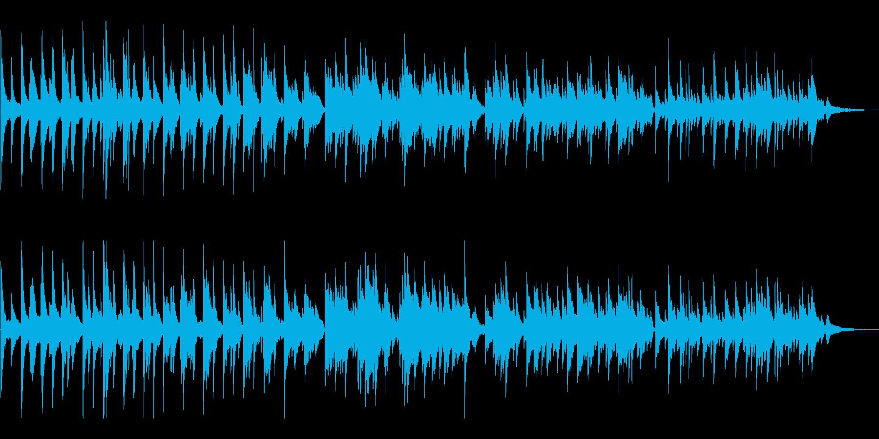 【ピアノ・ソロ】情緒的で感動系の映像向けの再生済みの波形