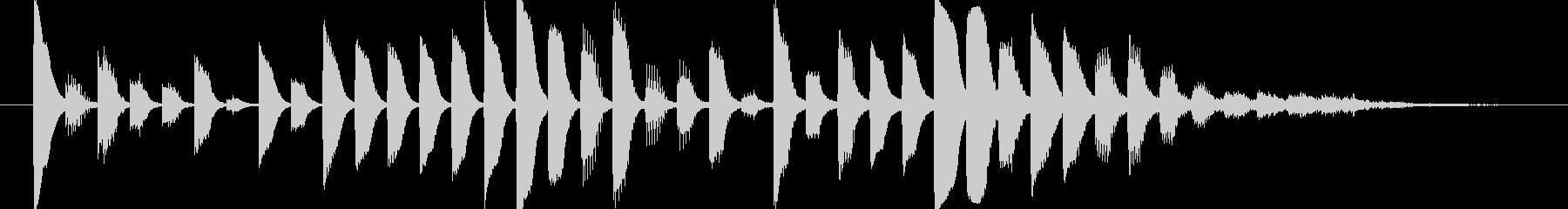 デジタルなアイキャッチの未再生の波形