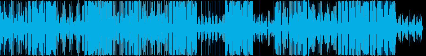 ヴェイパーに穿つビートの和風ファンクネスの再生済みの波形