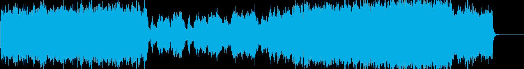 ストリングスが上品で感動的なクラシックの再生済みの波形