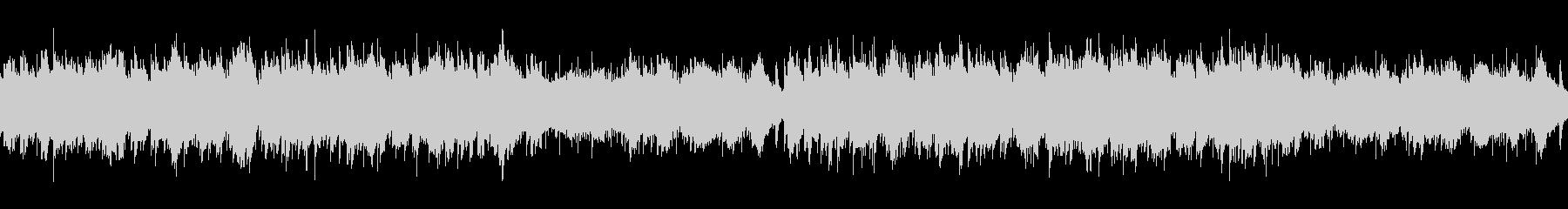 パンフルートとピアノの日常系BGMの未再生の波形