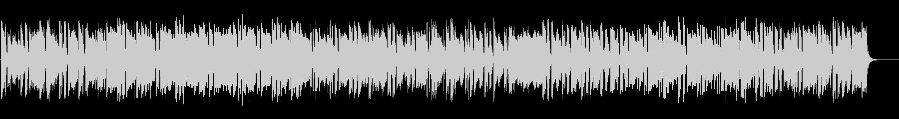 明るく元気が出るような ピアノBGMの未再生の波形