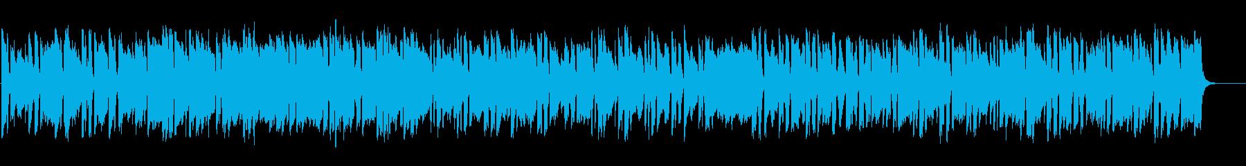 明るく元気が出るような ピアノBGMの再生済みの波形