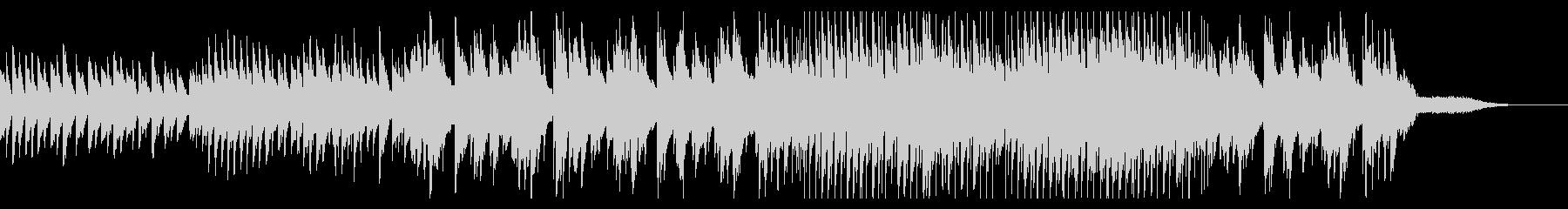 シンプルでノスタルジックなスローバラードの未再生の波形