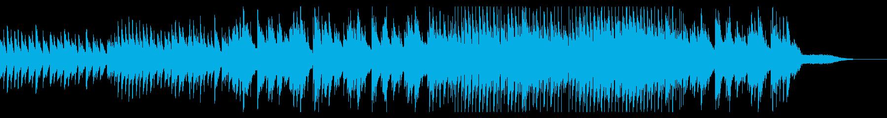 シンプルでノスタルジックなスローバラードの再生済みの波形