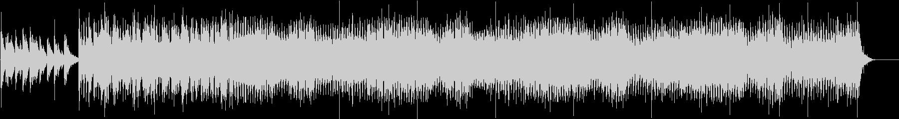 シャッフルで明るく揺れるようなBGMの未再生の波形