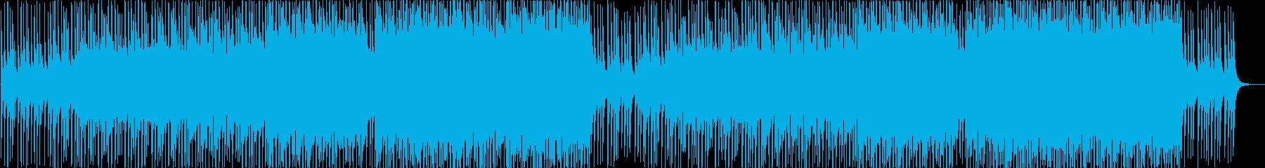 夏に合う爽やかで明るい疾走感EDMの再生済みの波形