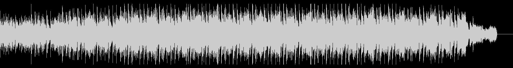 シンプルなノリのダークなハウスの未再生の波形