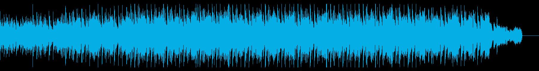 シンプルなノリのダークなハウスの再生済みの波形