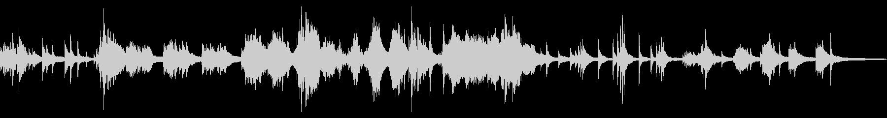 静かな水の中  和風曲3-ピアノソロの未再生の波形