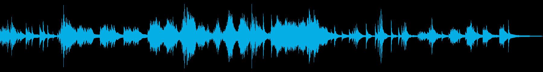 静かな水の中  和風曲3-ピアノソロの再生済みの波形