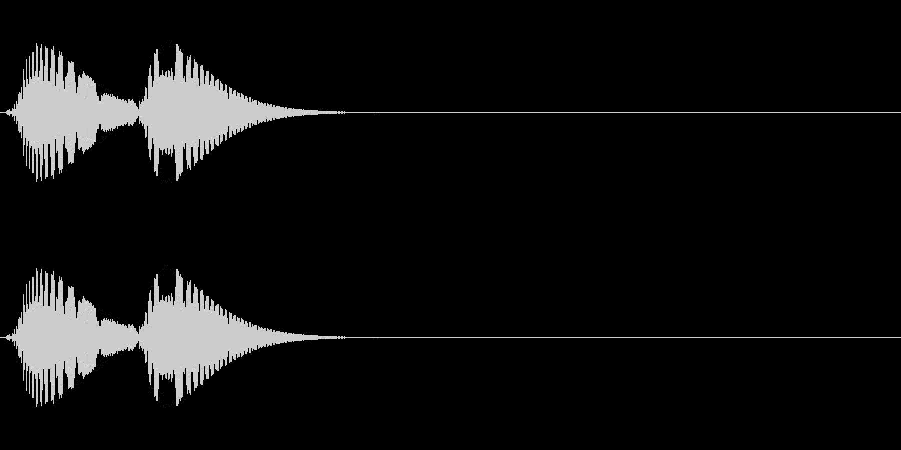 KANTアイキャッチ206231の未再生の波形
