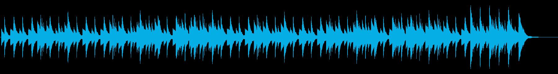 【ハープ】リラックスした睡眠の再生済みの波形