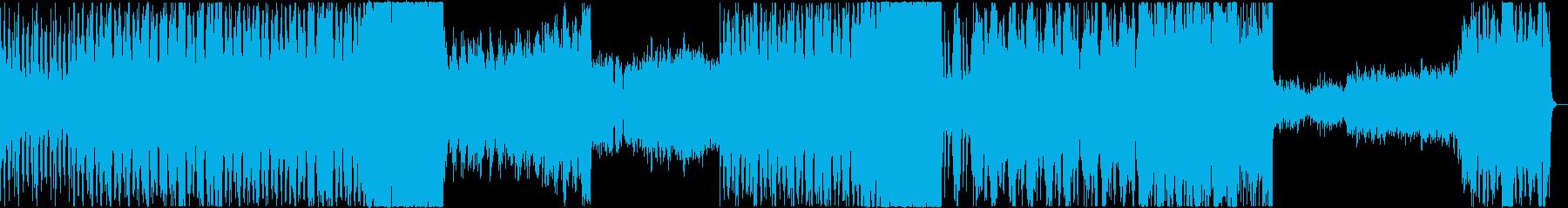 ボス戦向けBGMの再生済みの波形
