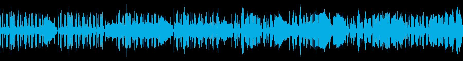 ほのぼの系動物や子供に合うBGM/ループの再生済みの波形