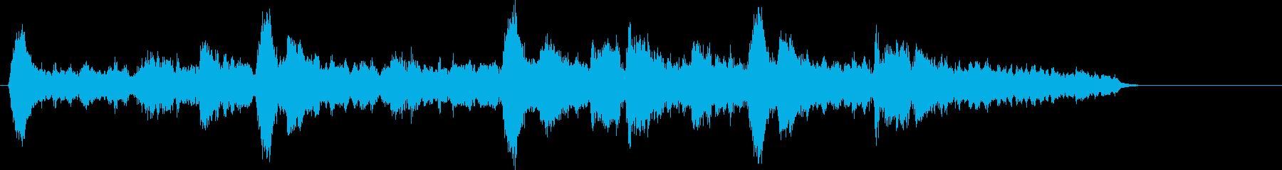 響きにインパクトのあるメロディーの再生済みの波形