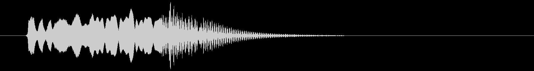 和風、尺八タラララ~ドドン!の未再生の波形
