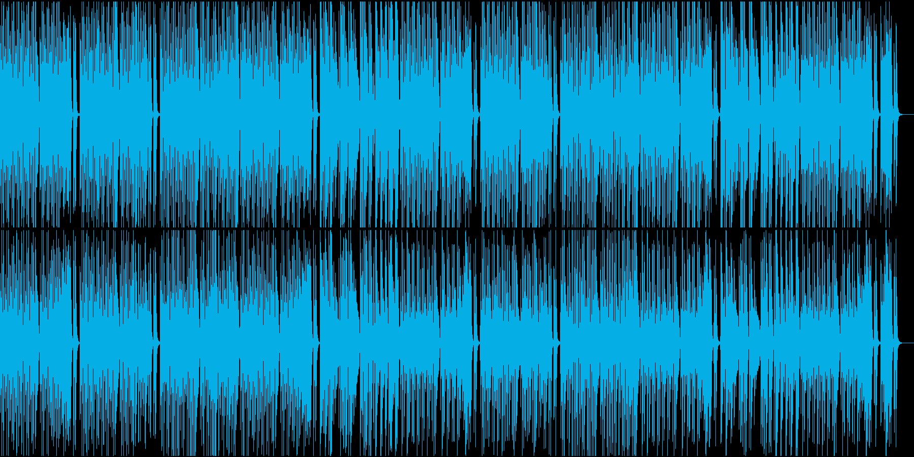 メロディの少ない可愛いピアノポップスの再生済みの波形