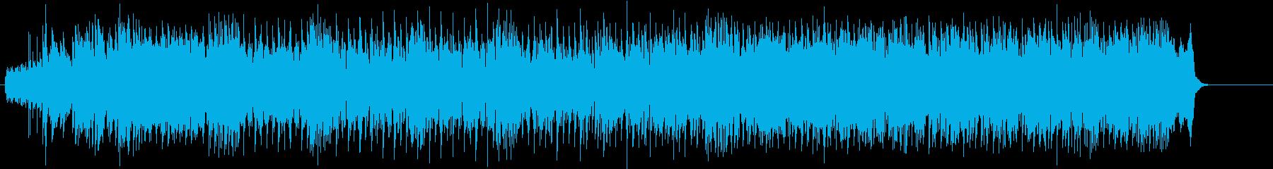 歌謡チックなインダストリアル・ポップの再生済みの波形