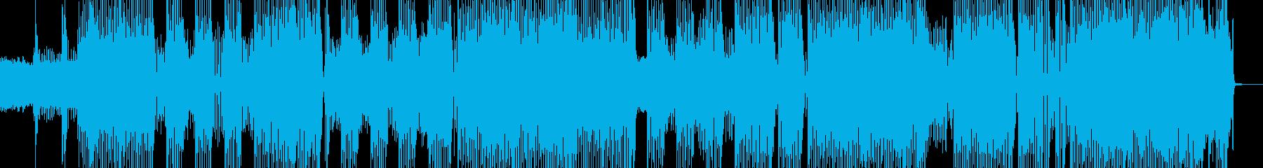 軽快ロック・フレンドリー作品に! 長尺の再生済みの波形