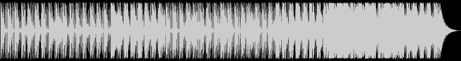 優しいエレクトロニカの未再生の波形