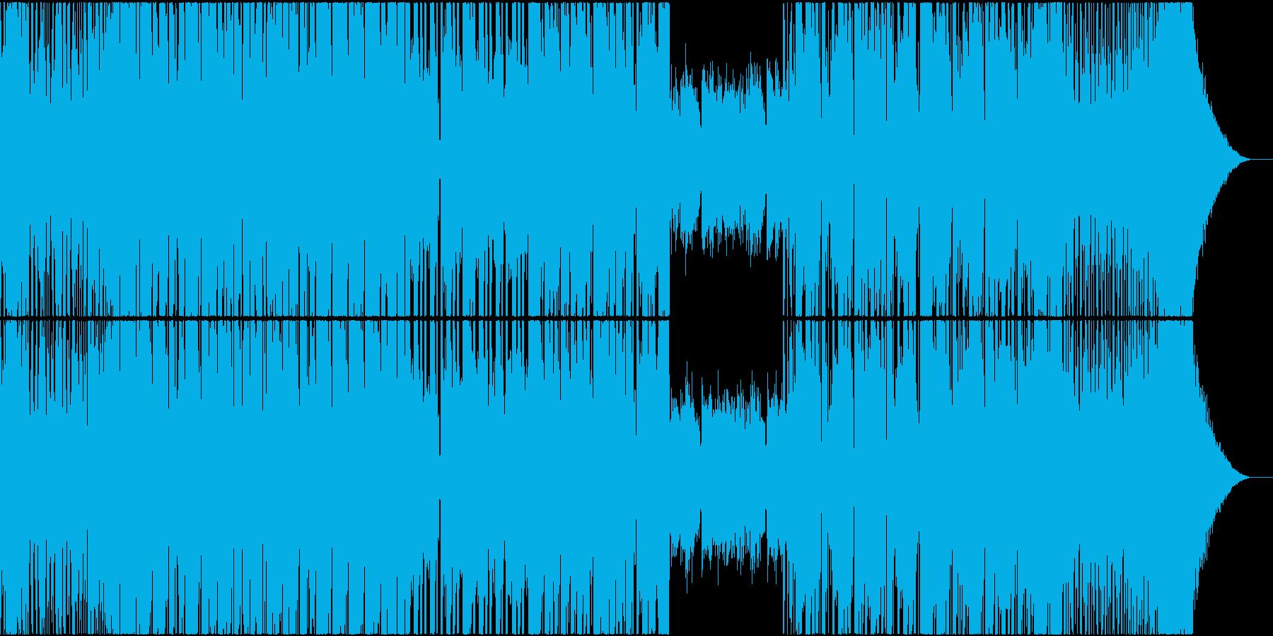 EDM TRAP DUBSTEP ピアノの再生済みの波形