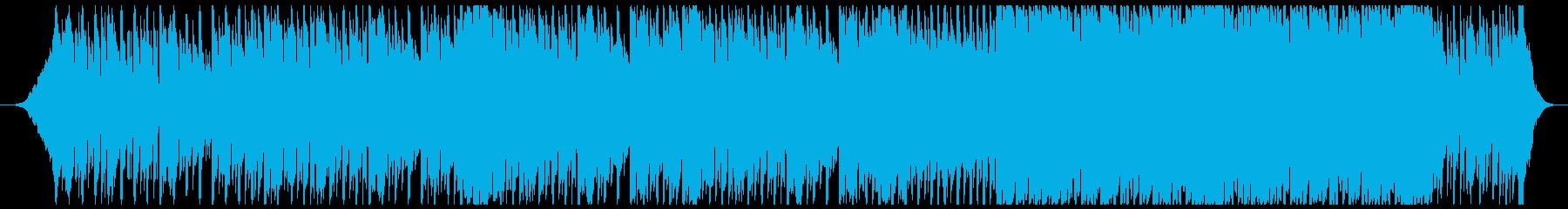 会社の事業プレゼン用トラック-60秒の再生済みの波形