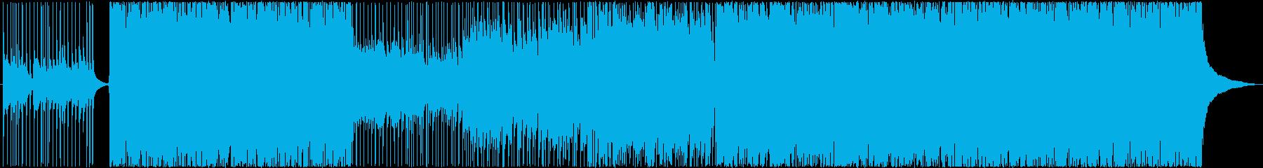 バンド音楽 ロック系 バトルシーンなどの再生済みの波形