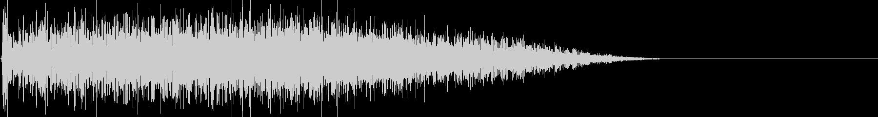 ディープローエンドノイズの影響の未再生の波形