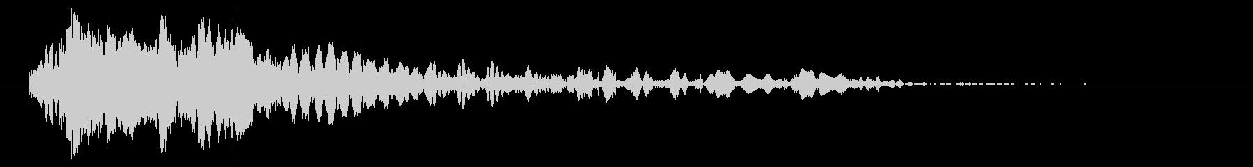 クイックアークストップヒット2の未再生の波形
