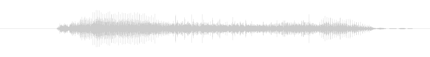 鳴き声 リトルガールスノート01の未再生の波形