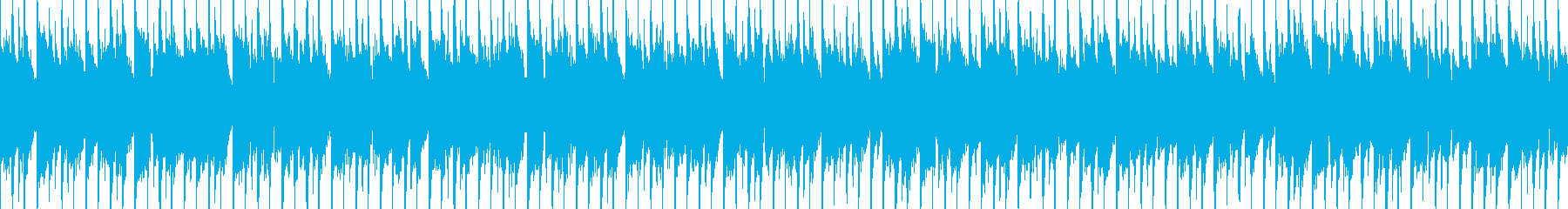 ファンキーなクラブ/ダンス/エレク...の再生済みの波形