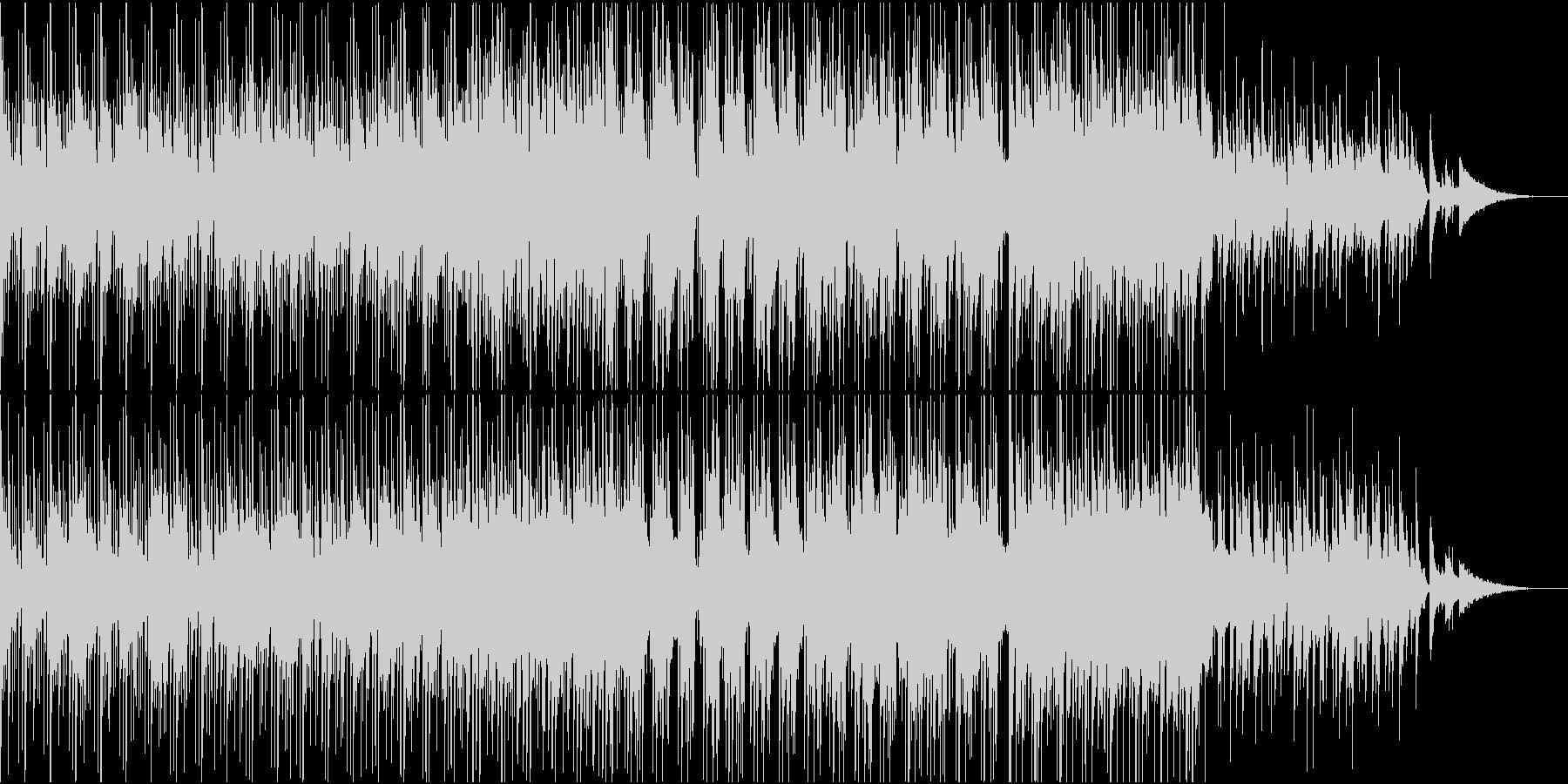【ピアノ】映像制作オープニング・CM向けの未再生の波形