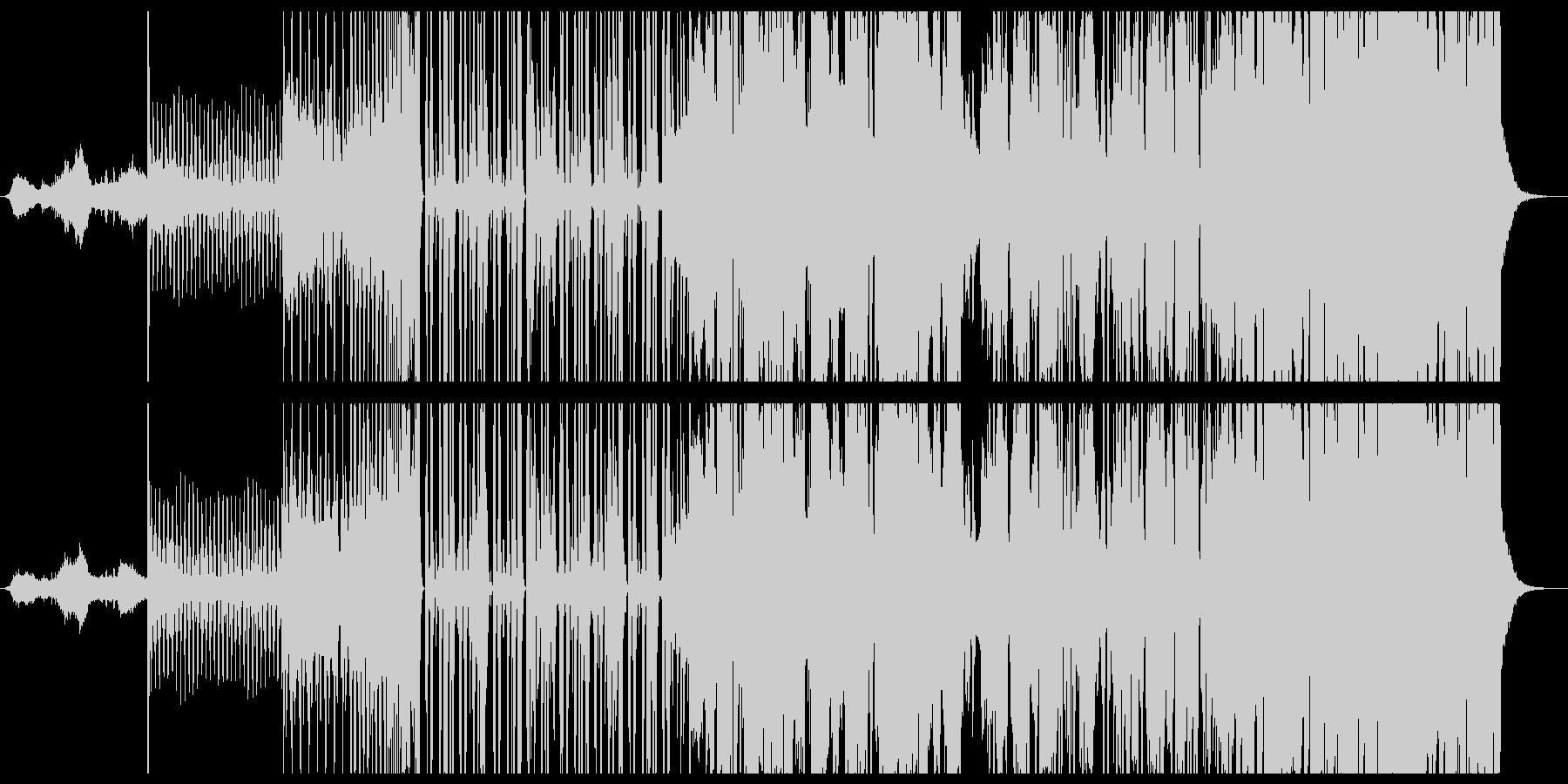 エレクトロ感満載フューチャーベースの未再生の波形
