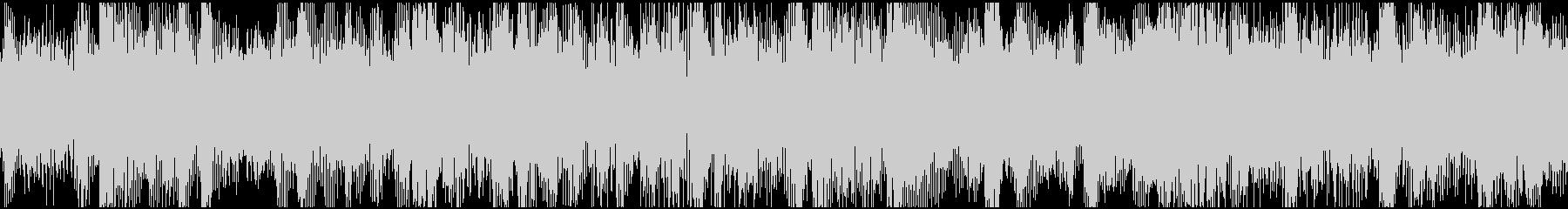 ループ:ドキドキ、わくわく、電子音の未再生の波形