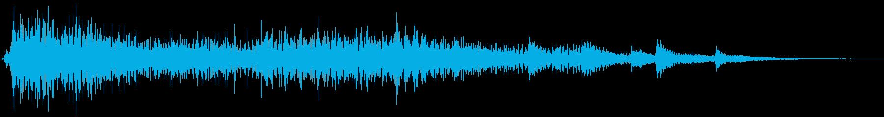 ピアノ:LONG GLISS UP...の再生済みの波形