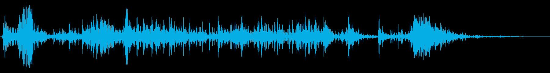 ビッグヘビークランチ;ヴィンテージ...の再生済みの波形