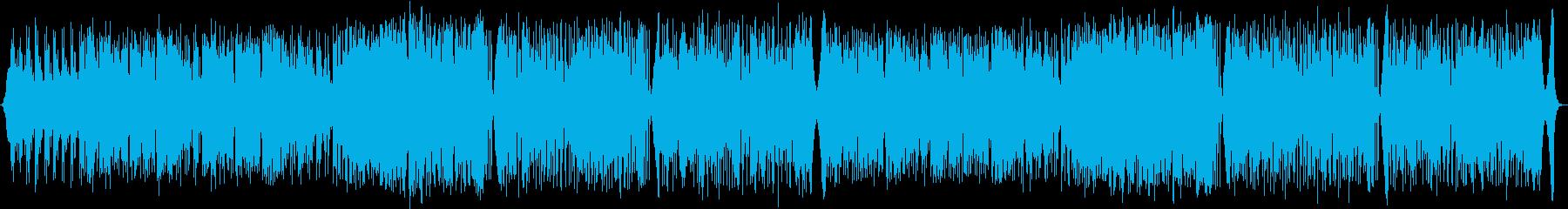 ポップス風フュージョンの再生済みの波形