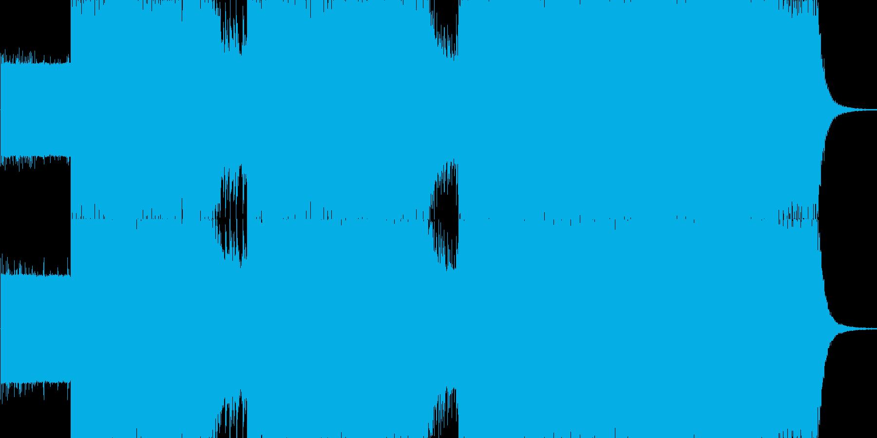 ハードロック調 怒涛 進撃の再生済みの波形