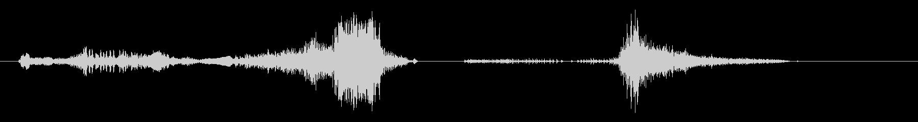 鳴き声 うめきストレッチ01の未再生の波形