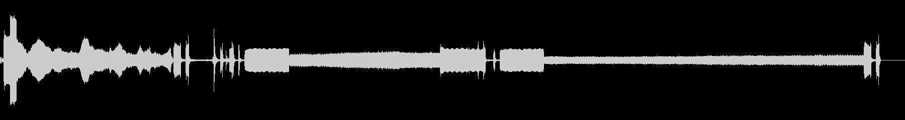 スキャナー-電源オン-画像のスキャ...の未再生の波形