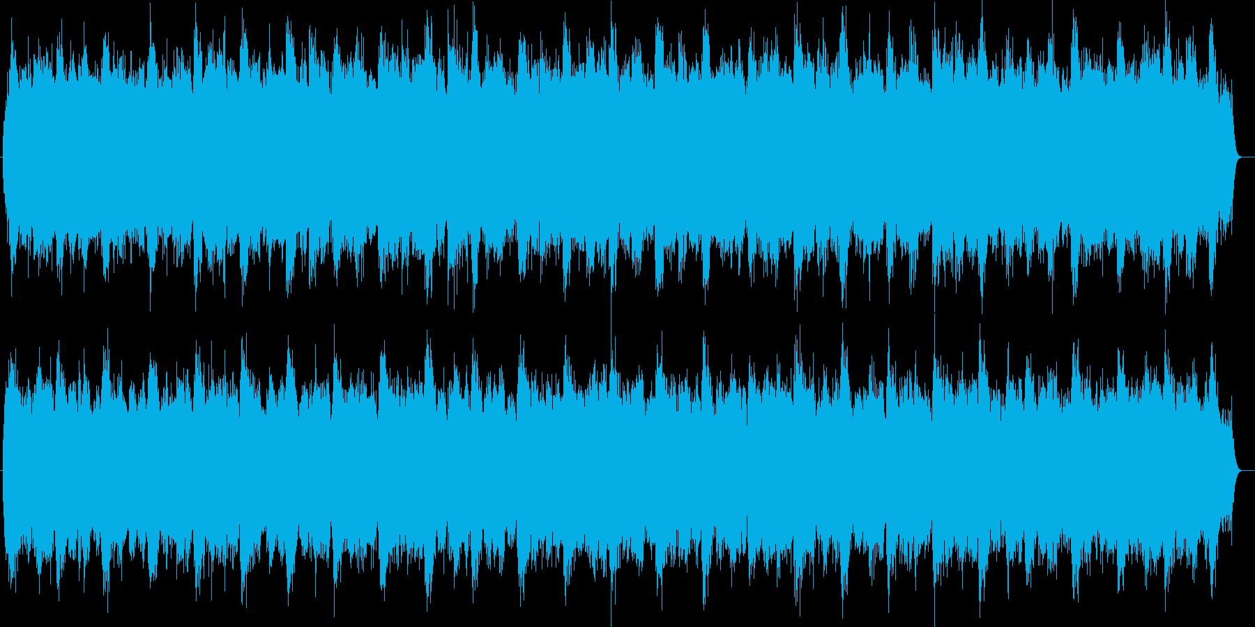 シンセによる悪魔のミサ曲の再生済みの波形