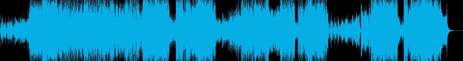 沖縄・南国を感じるアコギテクノポップ Lの再生済みの波形